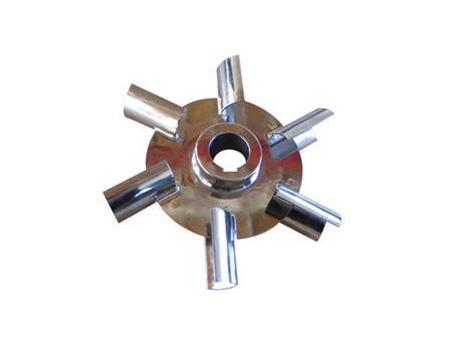 圆盘涡轮弧叶搅拌器